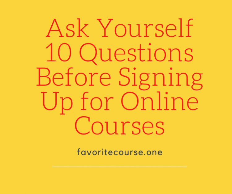 Are Online Courses Right for You?